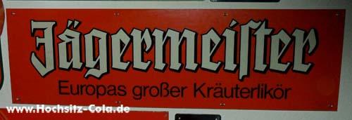 Jägermeister Schild #1