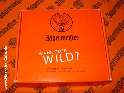 Jägermeister Flaschendrehen - Wahr oder wild?