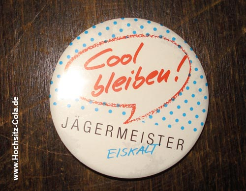 Jägermeister Button #9