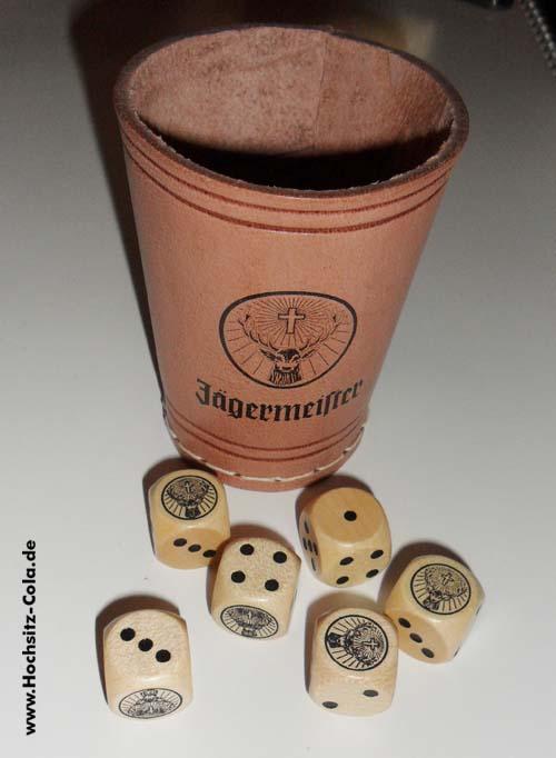 Jägermeister Würfelbecher #3