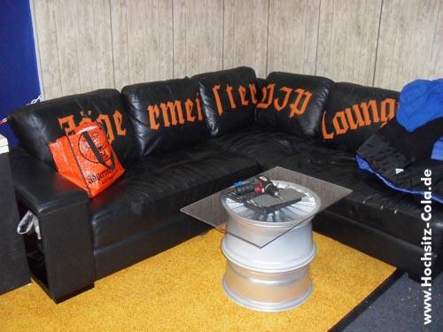 Jägermeister Sofa