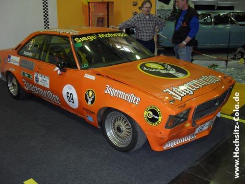 Opel Commodore Jägermeister