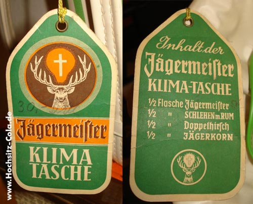 Jägermeister Klimatasche / Kühlbox
