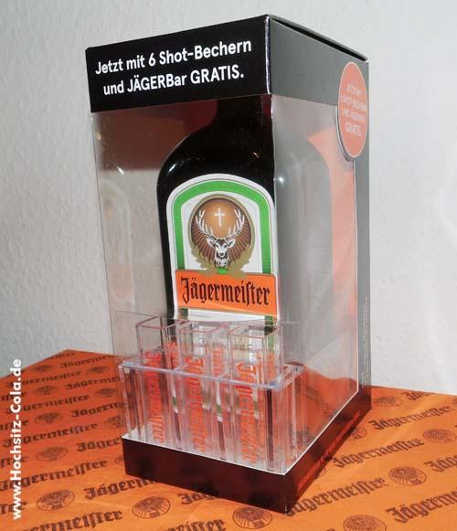 Aktuelles Jägermeister Geschenkset: Die Mini Bar