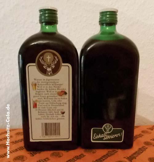 0,7l Flaschen Jägermeister W. Mast Kommanditgesellschaft