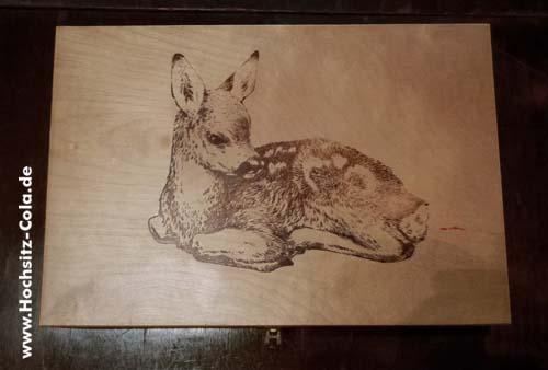 Jägermeister Holzkiste Bambi