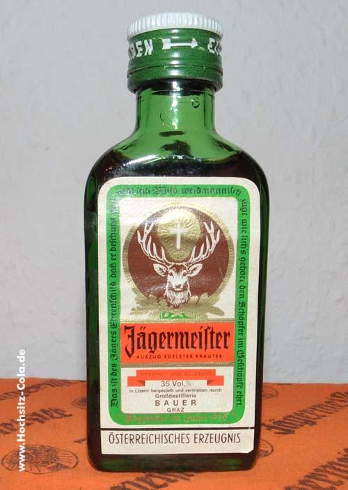 Jägermeister 0,04l Bauer Graz