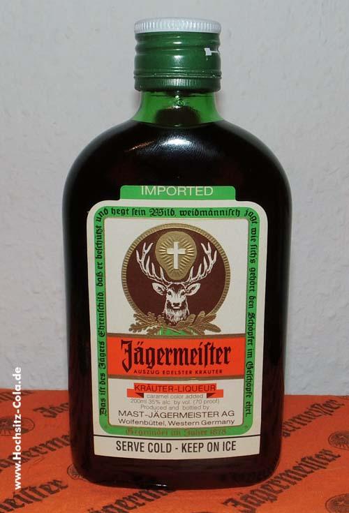 Jägermeister Flachmann USA