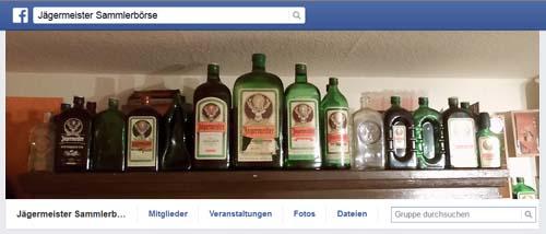Facebook Jägermeister Sammlerbörse