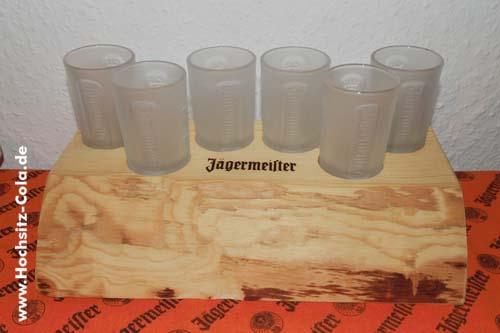 Jägermeister Holzblock