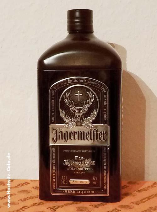 Jägermeister Blechdose #8 - schwarz, 1L