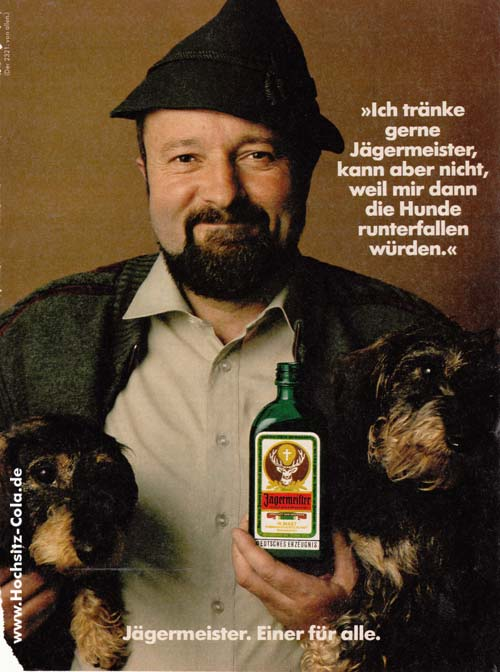 Dackel Jägermeister