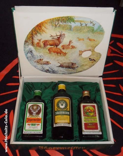Jägermeister Geschenkset 60er Jahre