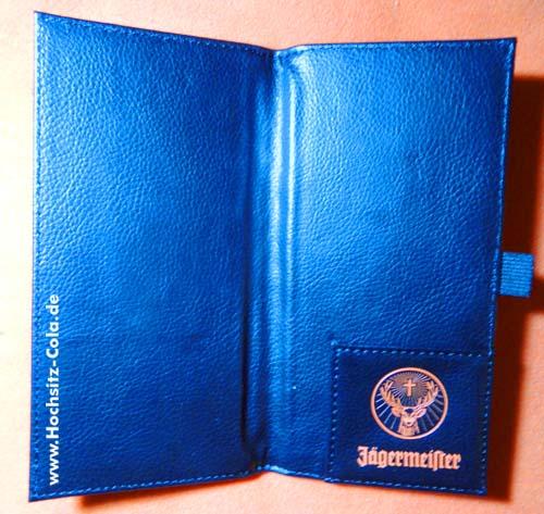 Jägermeister Rechnungsmappe
