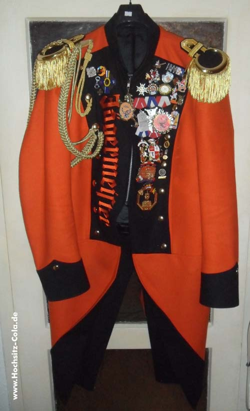 Waffenrock der Meenzer Jägergarde