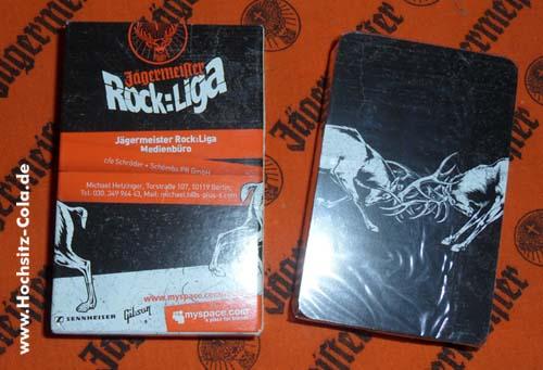 Jägermeister Rock-Liga Kartenspiel