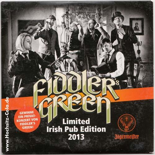 Promo CD Fiddler Green Jägermeister