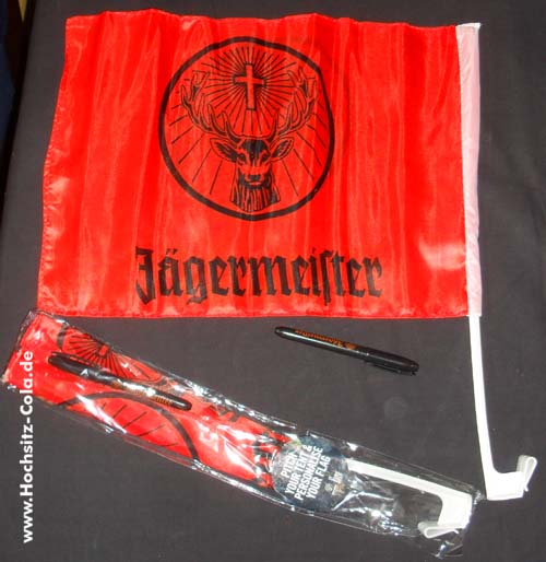 Jägermeister Autofahne