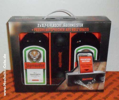 Jägermeister Passivlautsprecher Geschenkset