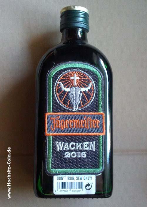 Jägermeister Wacken Flasche 2016