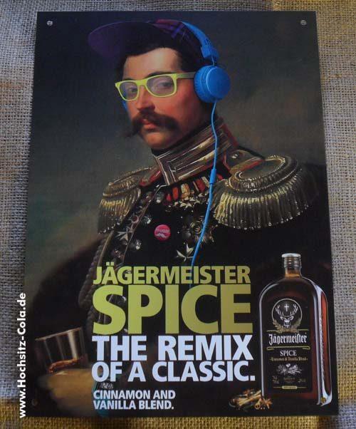 Jägermeister Spice Blechschild