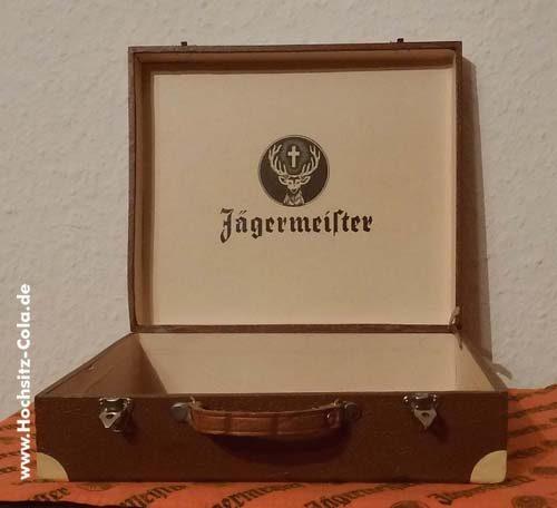 Jägermeister Geschenkkiste Reisekoffer