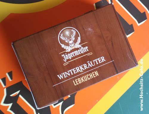 Jägermeister Winterkräuter Lebkuchen