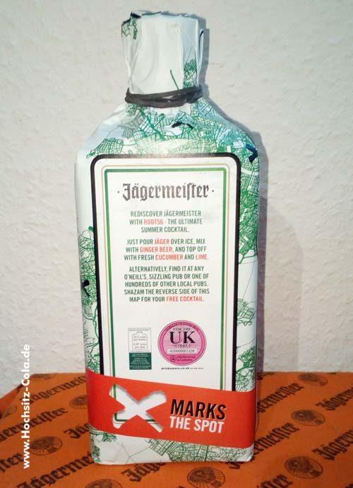 Jägermeister Aktionsflasche England