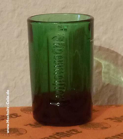 Jägermeister grünes Shotglas