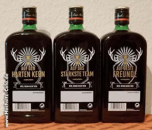 Jägermeister Pokalflaschen