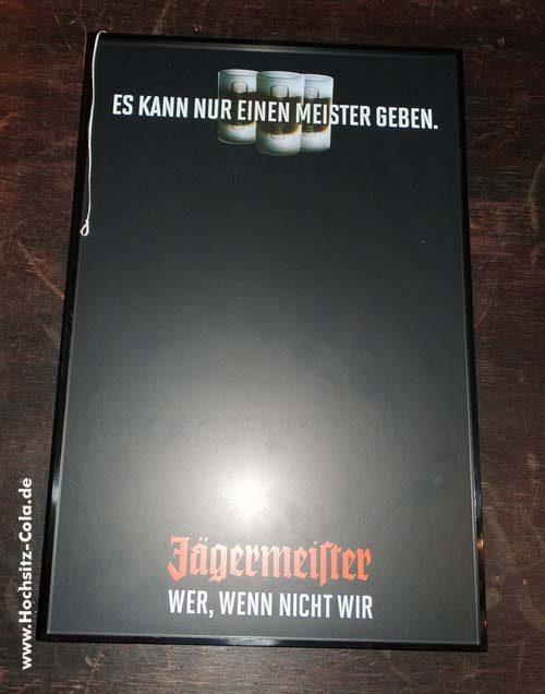 Jägermeister Tischfussballspiel / Tablet / Kreidetafel