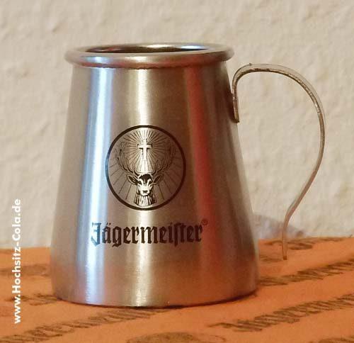 0,02l Jägermeister Edelstahlbecher USA