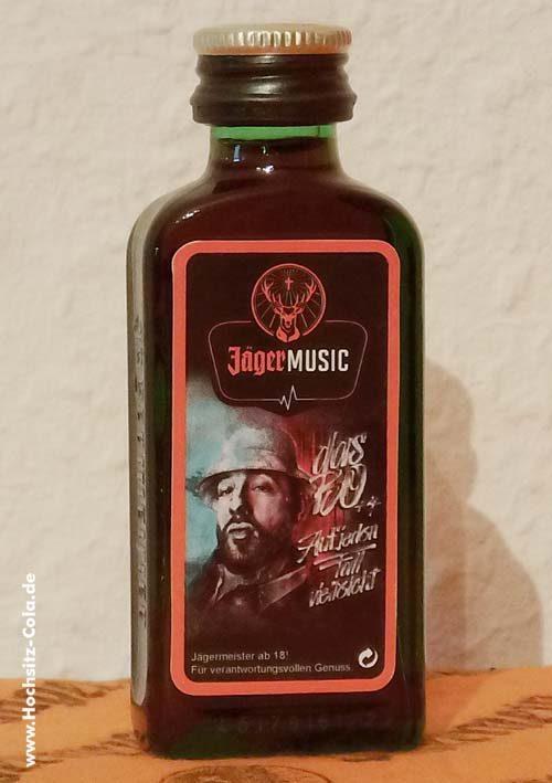 Jägermeister Flasche 0,02l Jägermusic Das Bo 2017