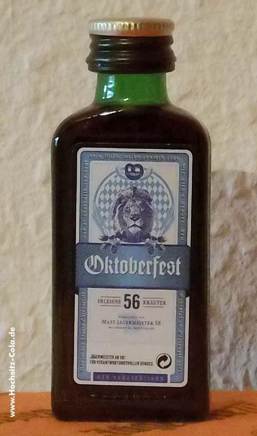 Jägermeister Flasche 0,02l Oktoberfest 2017