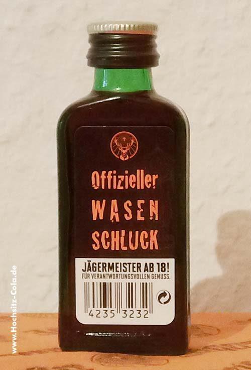 Jägermeister 0,02l Flasche offizieller Wasnschluck 2017