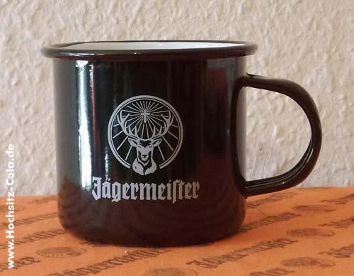 Jägermeister Emaille Tasse