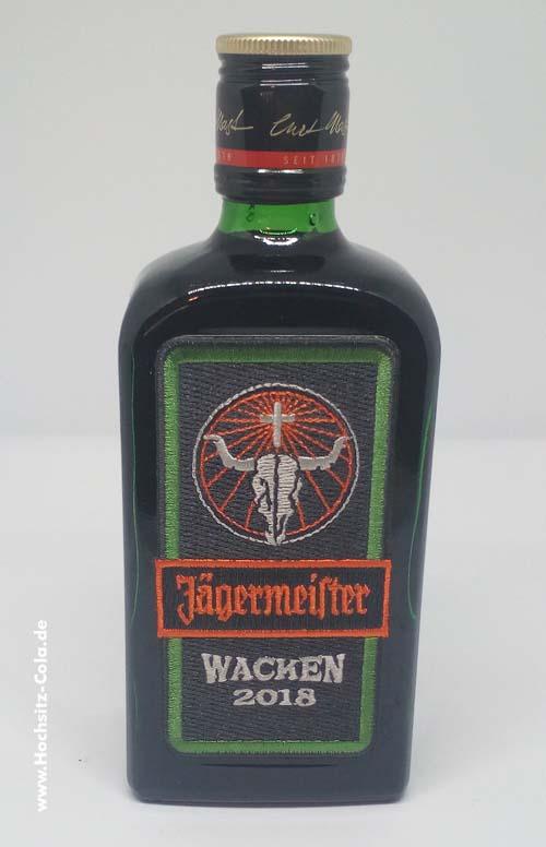 Jägermeister Wacken Flasche 2018